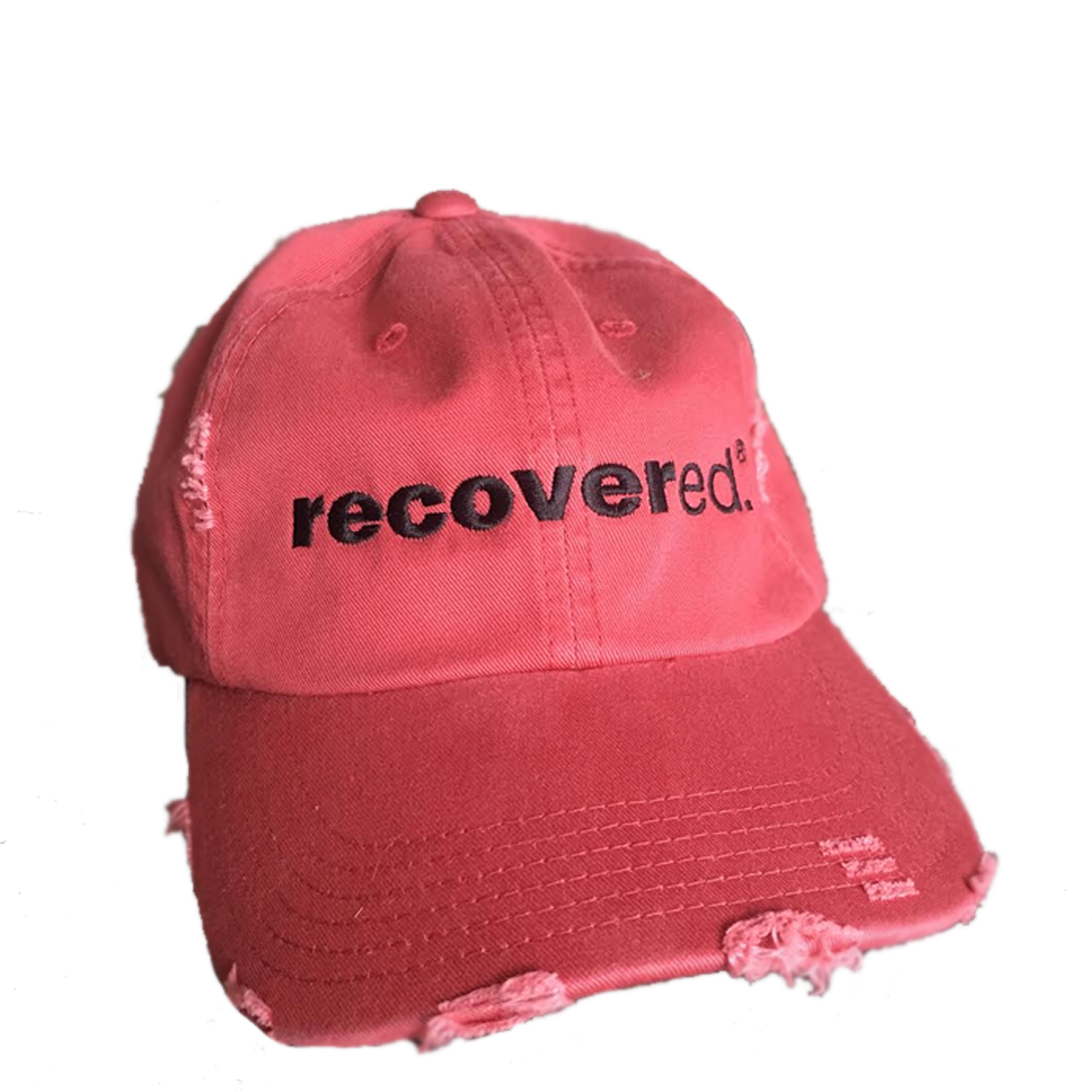 Recovered.<sup>®</sup> Pink-Red Baseball Cap
