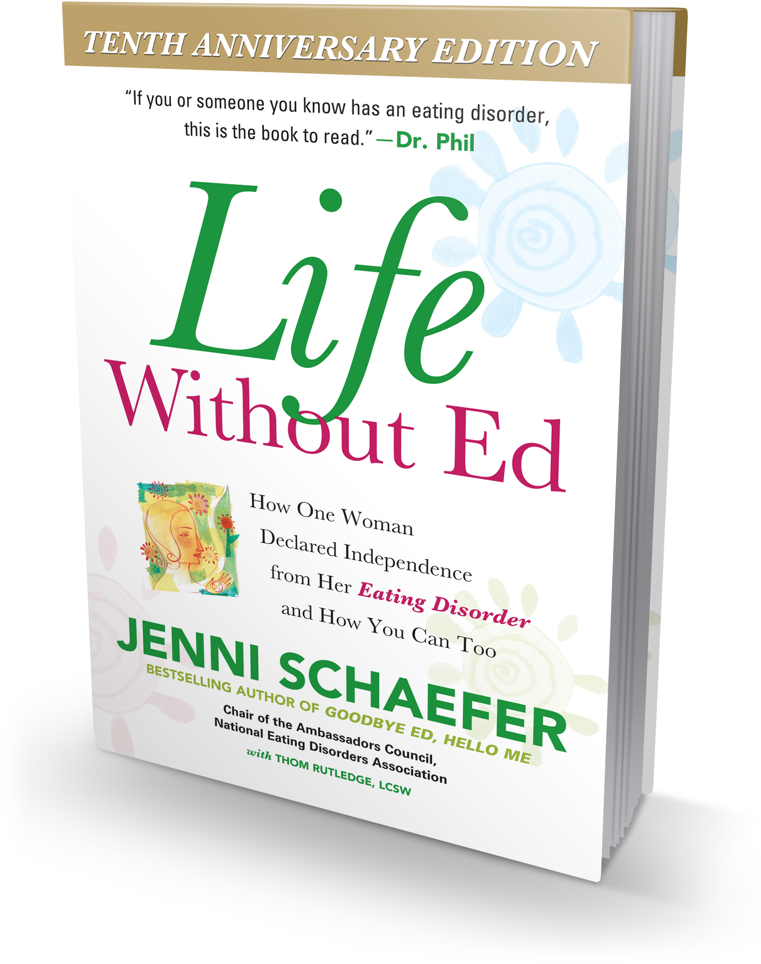 life out ed book eating disorder anorexic jenni schaefer life out ed